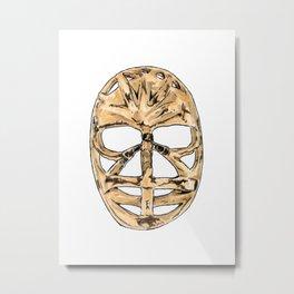 Dryden - Mask 1 Metal Print