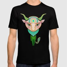 taurus zodiac sign Mens Fitted Tee Black MEDIUM