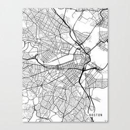 Boston Map Canvas Prints Society6