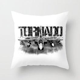 Tornado IDS Throw Pillow
