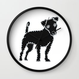 I have Connected the Jack Russell Terrier Doggy Dots! Wall Clock