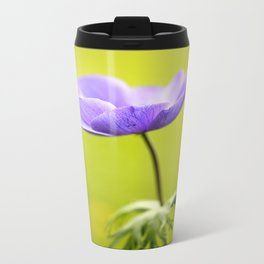 Purple Anemone  Travel Mug