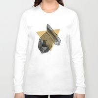 crystals Long Sleeve T-shirts featuring crystals by morgan kendall