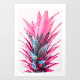 Pineapple Top Flowception | V1 Art Print
