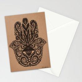 Hamsa - Fatima Hand Stationery Cards