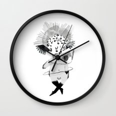 Mailing Angel Wall Clock