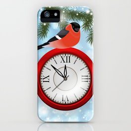 Christmas or New Year decoration iPhone Case