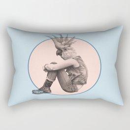 Menagerie Cockatoo Rectangular Pillow