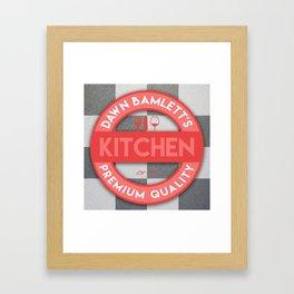 DB Kitchen Framed Art Print