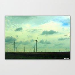 Cartwheel Giants Canvas Print