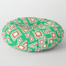 Square Pattern Floor Pillow