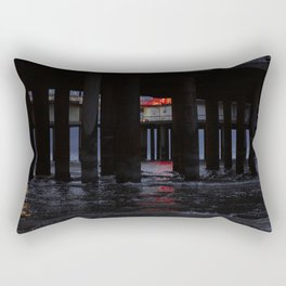 Night in The Hague Rectangular Pillow