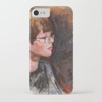 whatever iPhone & iPod Cases featuring whatever by Chris Shockley - shock schism