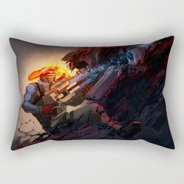 Battle from sights Rectangular Pillow