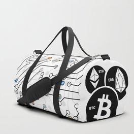 BTC, ETH, EOS Duffle Bag