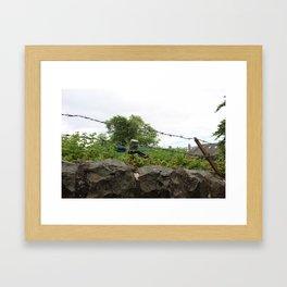 BucketHead Framed Art Print