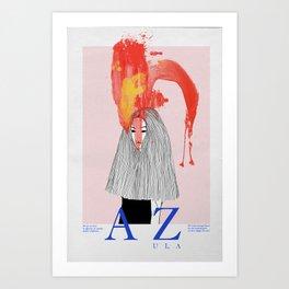 Azula Art Print