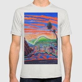 Surf Art Psychadelic  T-shirt