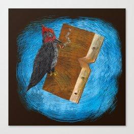 Bookpecker Canvas Print