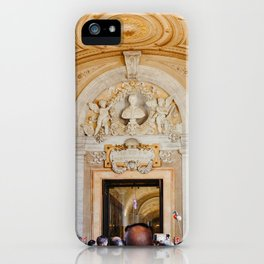 Walking trough all the art in The Vatican City, Italy | On vacation in Rome | Travel and food photography iPhone Case