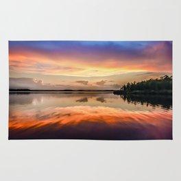 Sunset Symmetry Rug