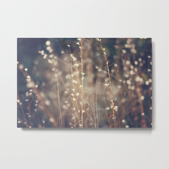 Sparkling Fairy Lights Metal Print