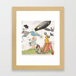 Bron-Y-Aur Stomp Framed Art Print