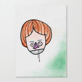 Hmpf! Canvas Print