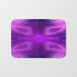 Agate Dreams in purple Bath Mat