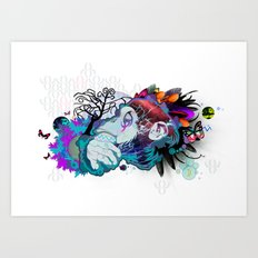 The Elder Art Print