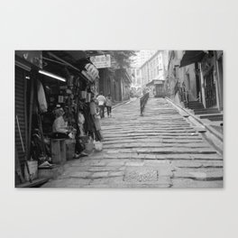 Pottinger Street Hong Kong  Canvas Print