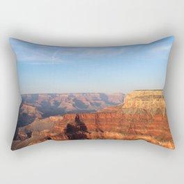 Grand Canyon South Rim at Sunset Rectangular Pillow