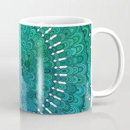 Turquoise Mandala Coffee Mug