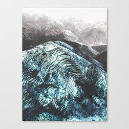 Wavey Mountains Canvas Print