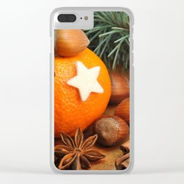 Smells like Christmas Clear iPhone Case