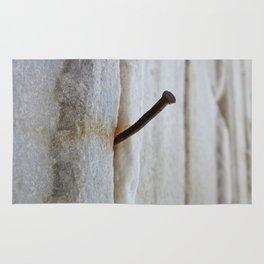 rusty nail Rug
