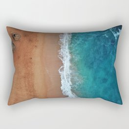 Down by the sea Rectangular Pillow