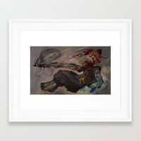 insect Framed Art Prints featuring Insect by Lutfi