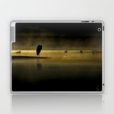 Herons in the Mist Laptop & iPad Skin