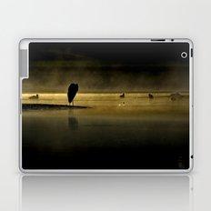 Herons in the Mist Laptop & iPad Skin