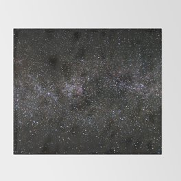 Milky Way Stars Throw Blanket