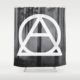 Devastated Forest Shower Curtain