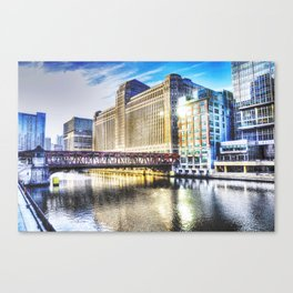 Architecture of Chicago-The Merchandise Mart Canvas Print