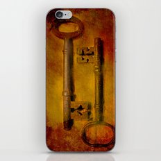 Two Old Keys iPhone & iPod Skin