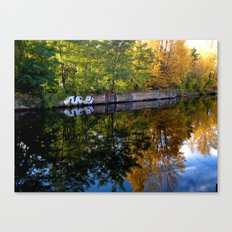 canal art Canvas Print