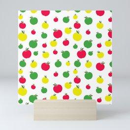 Apple Seamless Pattern Mini Art Print