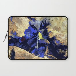 Digging In   -  Motocross Racer Laptop Sleeve