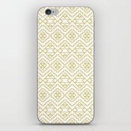 Boho Campfire - Gold iPhone Skin