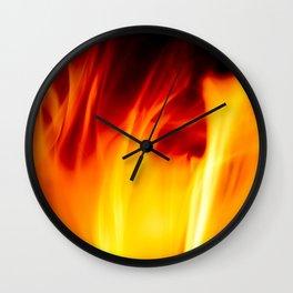 The Ardor of Avarice Wall Clock