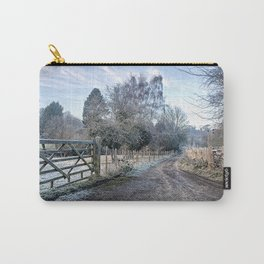 Frosty Lane Carry-All Pouch